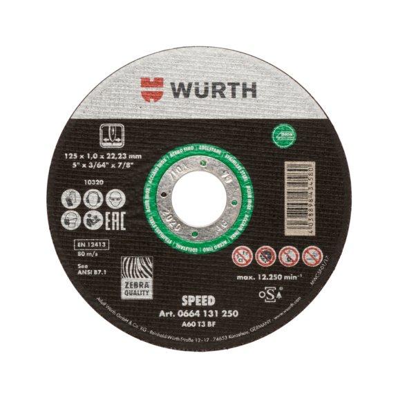 Отрезной диск Speed Plus для нержавеющей стали - 1