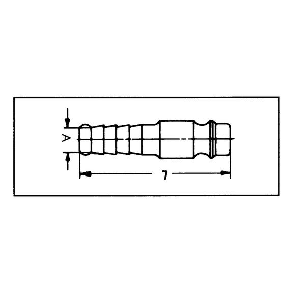 Вставной наконечник для подачи сжатого воздуха - 3