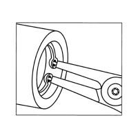 Клещи для стопорных колец Форма C - 8