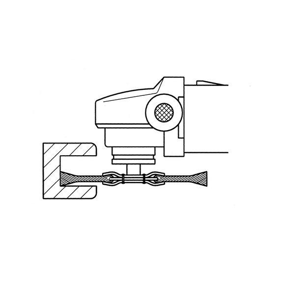 Круглые щетки — нержавеющая проволока - 3