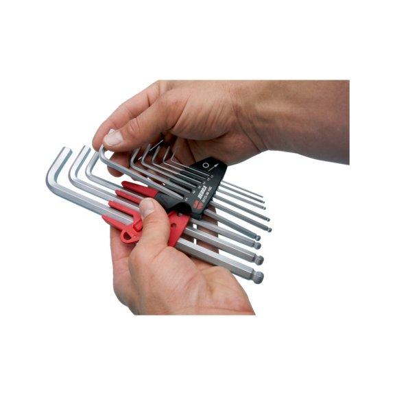 Набор шестигранных ключей, внутренний шестигранник - 3