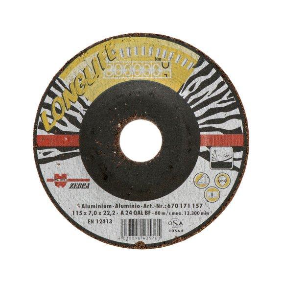 Обдирочный диск, долговечный, по алюминию/цветным металлам - 1