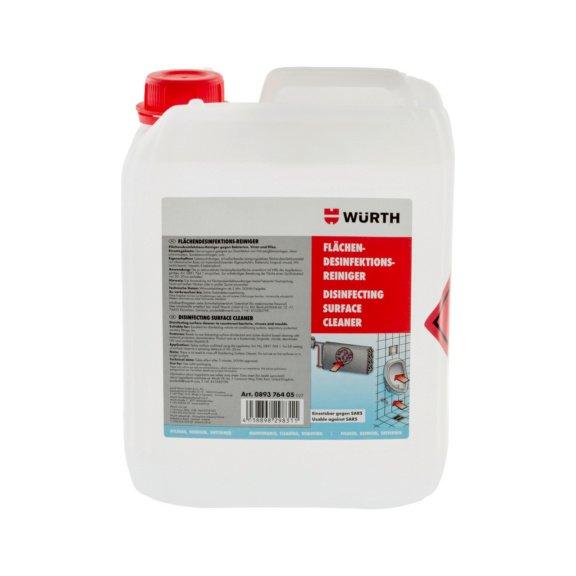 Дезинфицирующее средство для очистки поверхности - 1