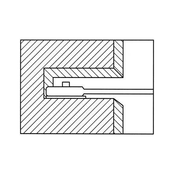 Комбинированный гаечный ключ с трещоткой, метрический, прямой - 3