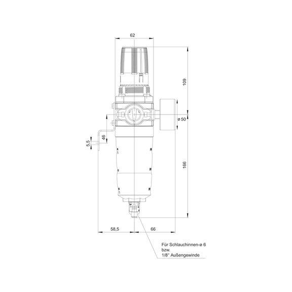 Блок подготовки сжатого воздуха Размер 2 - 3