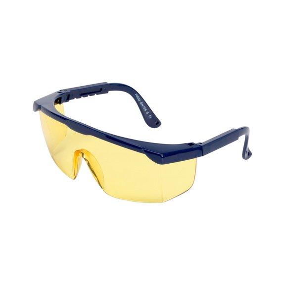Контрастные очки, желтые - 1