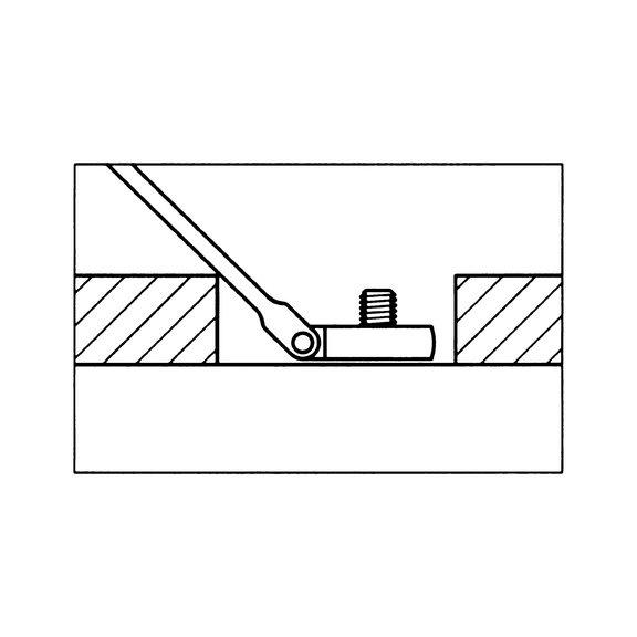 Комбинированный гаечный ключ с трещоткой - 3