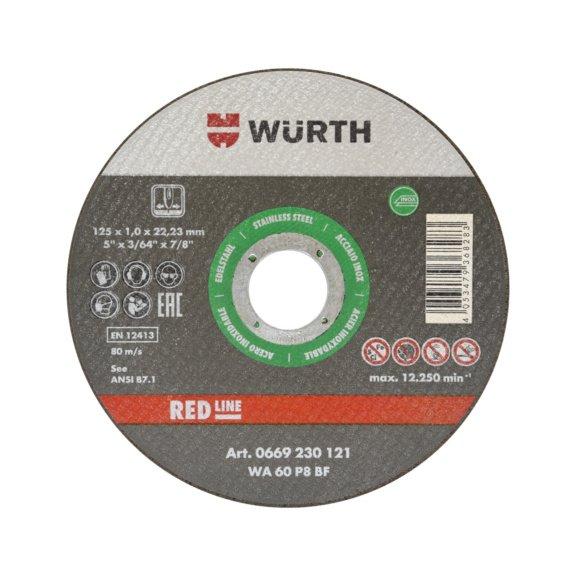 Ріжучий диск для нержавіючої сталі 125 мм - 1