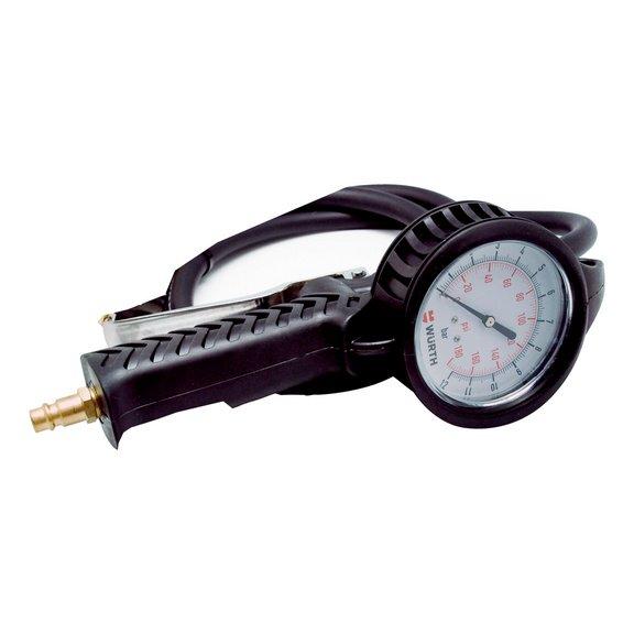 Насос для шин с циферблатным индикатором - 1