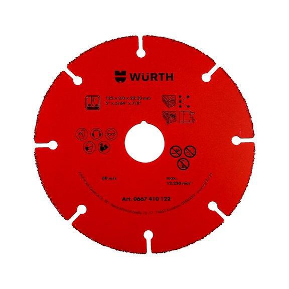 Отрезной диск, с пластинами из твердого сплава - 1