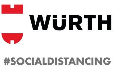 Wurth #socialdistancing
