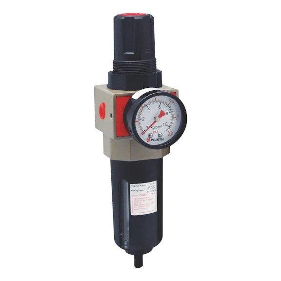 Блок підготовки повітря для пневмосистеми, фільтр/манометр, 1/2IN {арт. 0699001121} - 1