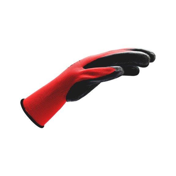 Перчатки защитные Красные, латексные, захват - 1