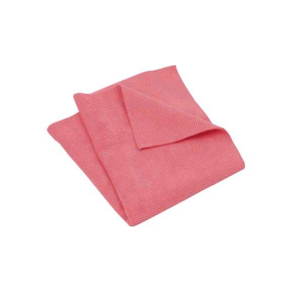 Ганчірка з мікроволокна, червона, 40х40 см, 5 шт в упаковці {арт. 19910730103} - 1
