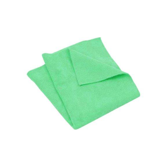 Ганчірка з мікроволокна, зелена, 40х40 см, 5 шт в упаковці {арт. 19910730104} - 1