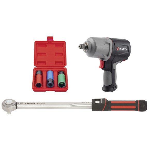 Комплект інструментів для шиномонтажу - 1