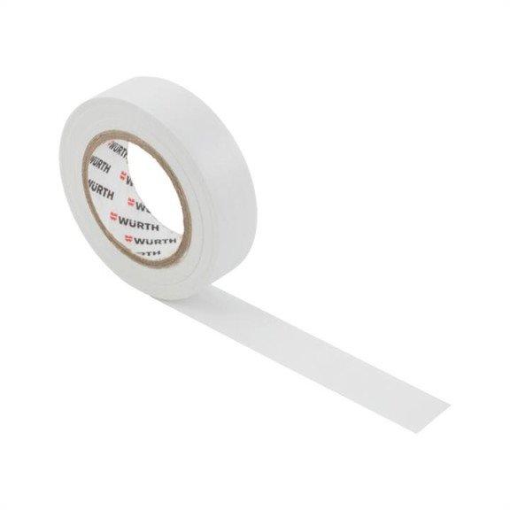 Ізоляційна стрічка PVC, біла, 18мм/10м {арт. 1985102} - 1